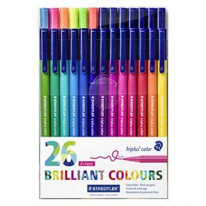 Set Staedtler Triplus color box 26 stuks