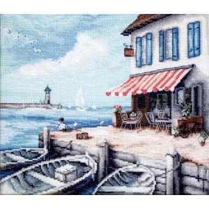 Letistitch borduurpakket 0908 Sea Port leti-0908