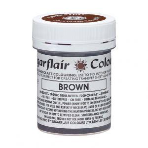 Sugarflair chocolade kleurstof bruin