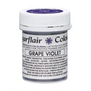 Sugarflair chocolade kleurstof grape violet