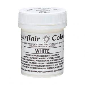 Sugarflair chocolade kleurstof White