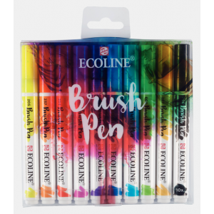 Ecoline Brush Pen set van 10