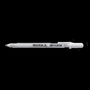 Sakura gellyroll pen nr. 10 bold 0,5mm wit XPGB1050