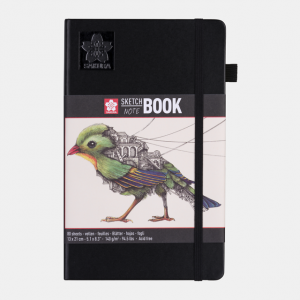 Sakura Sketch notebook 13x21cm cremewit 140gr 80 vel 94140003
