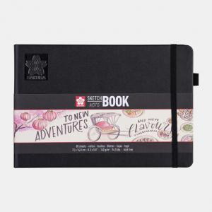 Sakura Sketch notebook 21x14,8cm cremewit 140gr 80 vel 94140004