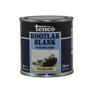 Tenco Bootlak 910 blank 250ml 11250055