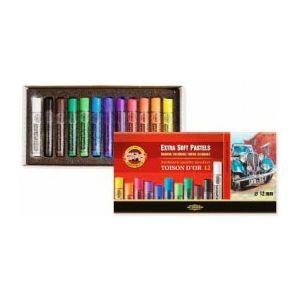 Koh-I-Noor Toison Dór extra soft pastel set á 12 stuks