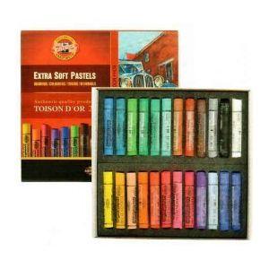 Koh-I-Noor Toison Dór extra soft pastel set á 24 stuks