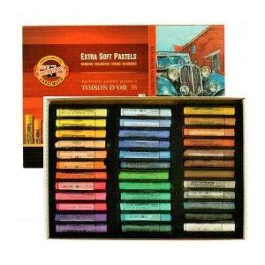 Koh-I-Noor Toison Dór extra soft pastel set á 36 stuks