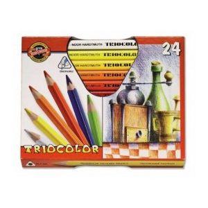 KIN Triocolor set 3154 gelakt 24 assorti