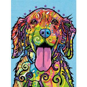 Dimensions Kleuren op nummer 91695 Colorful dog