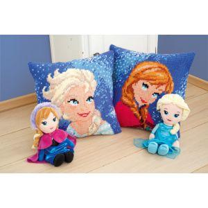 Vervaco Disney® kussenpakket Anna