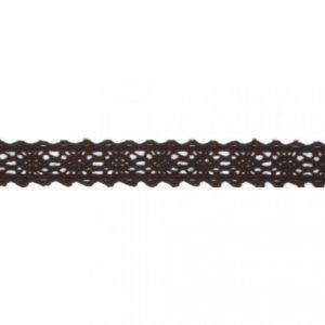 Washi Fabric Tape kantrand donkerbruin Rayher 58 394 552
