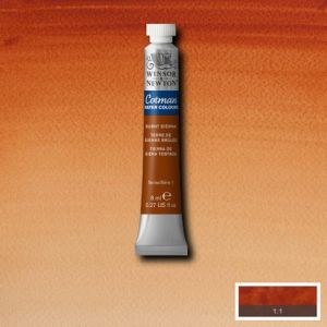 Cotman aquarelverf 074 burnt sienna