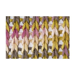 Tahiti Beach kleur 318 zalmoranje/olijfgroen/bleekbruin/bleekrood