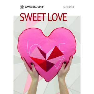 Zweigart 104/314 Sweet Love PN-0188492/104314