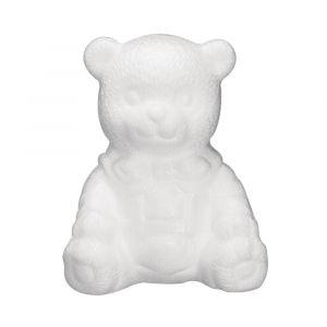 Styropor / piepschuim beer zittend 16cm Rayher 33 194 00