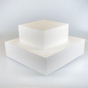 Taart dummie vierkant 15x15cm