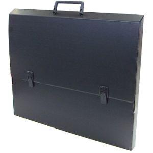 Tekenkoffer zwart 75x105x5cm A1+