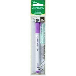 Clover 5031 Thick Air Erasable Marker with Eraser droogt aan de lucht of met water