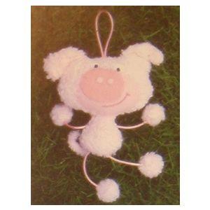 Wiggel Piggy 20 cm hoog