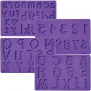 Wilton letters/Numbers Fondant & Gumpaste Mold