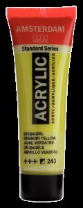 Amsterdam acrylverf standard 20ml 243 groengeel