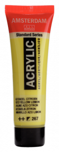 Amsterdam acrylverf standard 20ml 267 azogeel citroen