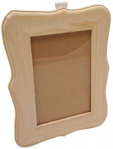 Fotolijstje recht groot hout