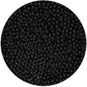 FunCakes Suikerparels 4mm Zwart 80gr