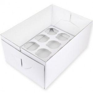 PME Cupcake Box 12 stuks - 14cm hoog